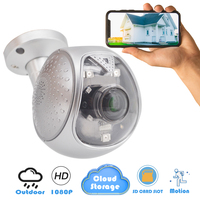 CTVMAN HD 1080p IP Camera Outdoor Wifi Cloud Wireless Outdoor Wifi Cameras Home Digital Zoom Onvif Security Panoramic Webcam