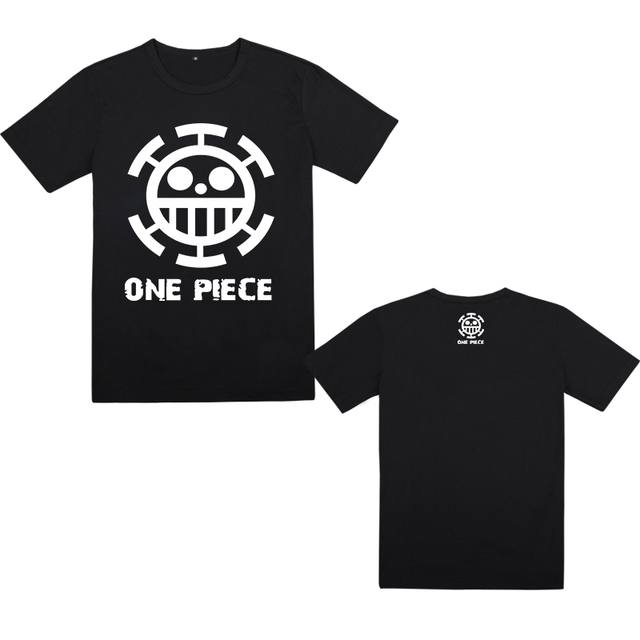 One Piece Luffy Ace Law Cotton T-shirt