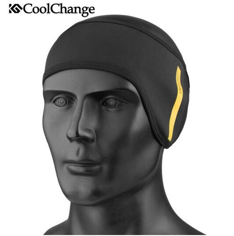 CoolChange Cycling Face Mask Winter Cycling Face Mask Cap Ski Bike Mask Thermal Fleece Snowboard Headwear Bicycle Mask Scarf