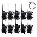 10 pcs walkie talkie retevis h777 uhf 400-470 mhz 16ch presunto rádio transceptor hf 2 maneira de rádio comunicador comunicador handy a9105a