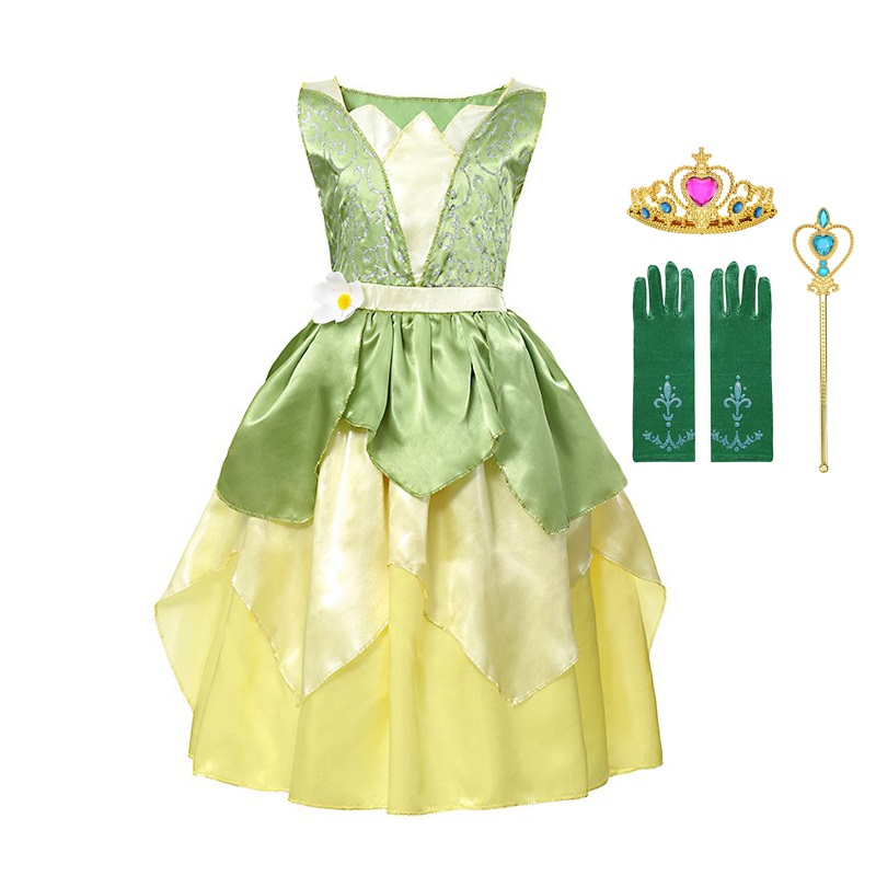 02859e120e654 🛒 [BEST DEAL] | Fairy Tale The Princess and the Frog Costume for ...