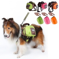 Large Dog Waterproof Backpack Supplies Big Dogs Foldable Outdoor Traval Package Products Pet Accessories Pets