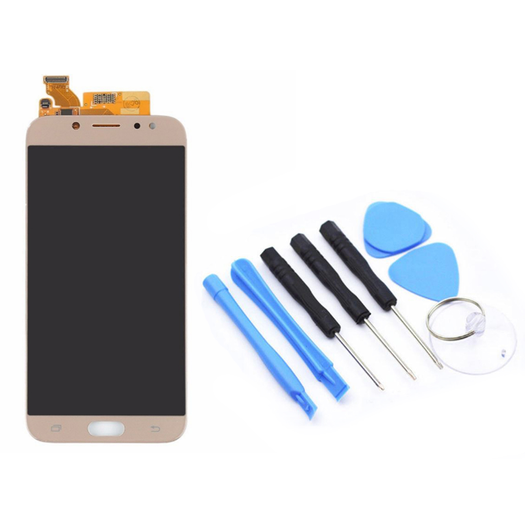 LCD Display LCD + Touch Screen +Tool Compatibile Assembly For Samsung J7PRO Touch Screen Digitizer-in Mobile Phone Flex Cables from Cellphones & Telecommunications