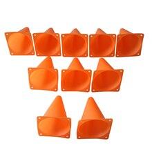 "JHO-"" Конусы курс/Футбол и футбол конусов(защита от 10 шт./компл.) оранжевый"