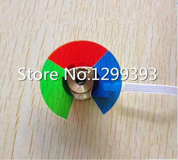 Projector Color Wheel for PB6100  Free shipping projector color wheel for optoma x303 free shipping