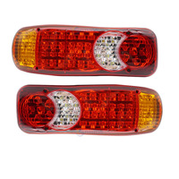 Car Truck LED Stop Rear Tail Indicator fog lights Reverse Van Auto LED Lamps 12V/24V trailer lorry external lights