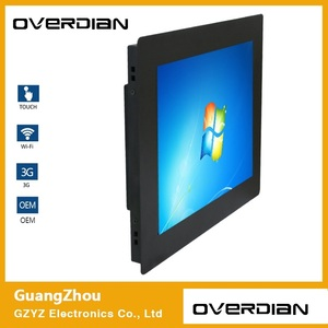 Image 2 - 21.5inch Win7 System Single Touch1920*1080Industrial Computer Household Embedded Computer ResistanceTouch Plane computer Screen