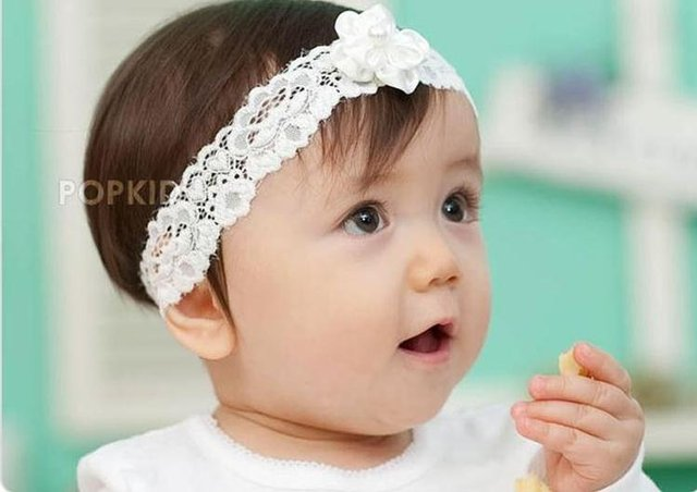 baby toddler girls white lace pink white headbands with small flower pearl  hairband boutique accessories headwear free shipping a629e4ae356