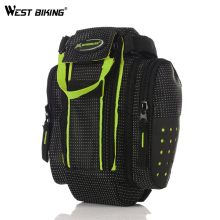 WEST BIKING Large Capacity Bicycle Bags Rear Tail Pouch Bike Saddle Bag Back Seat MTB Cycling Bike Bicycle Bags Bolsa Bicicleta