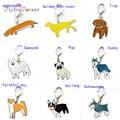Брелок Симпатичный Брелок брелок на рюкзак 10 шт./лот оптовая продажа кота собаки подвеска для животных Pet Подвески для собак верный пес брел...