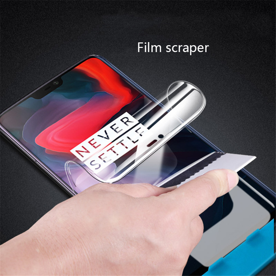 Hydrogel Film For Oneplus 5T One Plus 5 T Screen Protector For Oneplus 6 Oneplus 5 3D Full Cover Soft (Not Glass) (6)