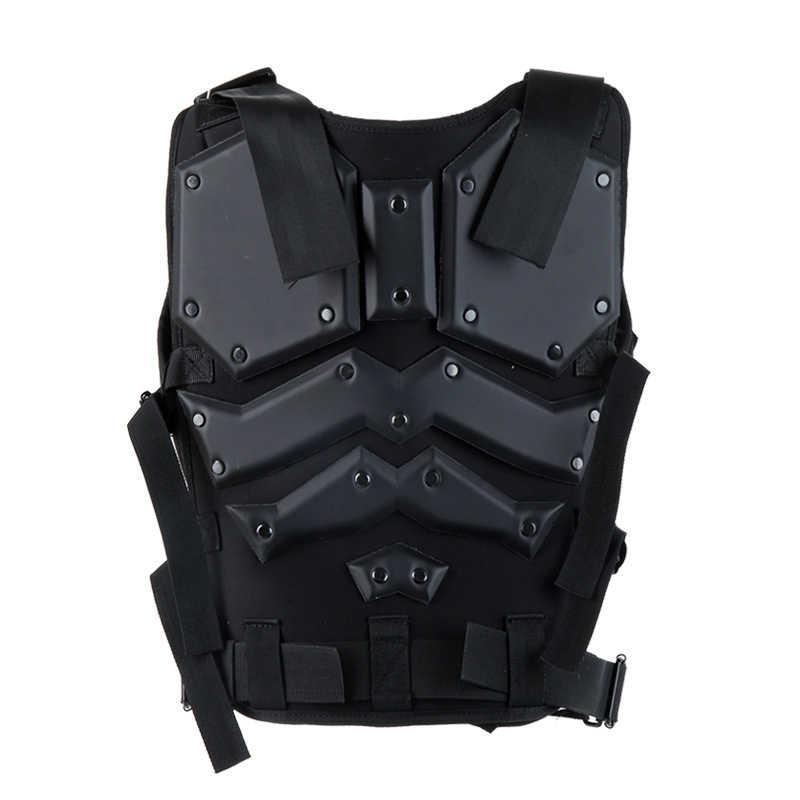 TMC متعددة الوظائف التكتيكية سترة الصيد سترة عسكرية درع للجسم مكافحة الألوان صدرية مع 5.56 سريع ماج الحقيبة