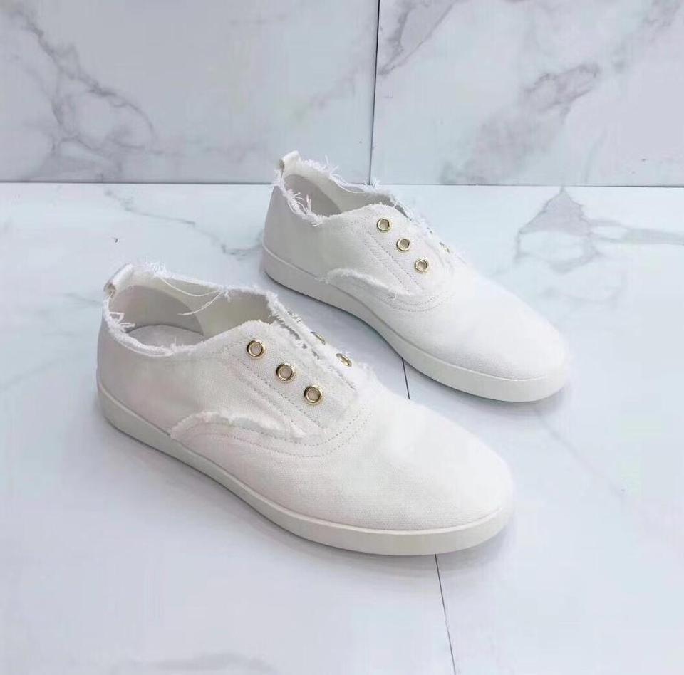 fashion canvas shoes flat