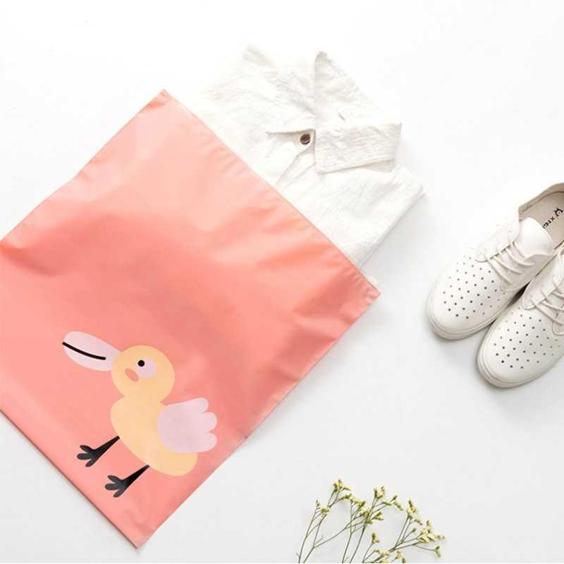 IVYSHION PortableTravel Shoes Bag Wardrobe Luggage Storage Bag Closet Clothing Underwear Waterproof Dustproof Shoes Pouch Cute
