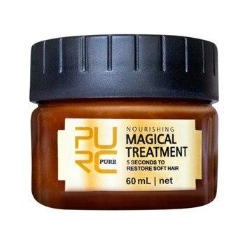 PURC  Magical keratin Hair Treatment Mask 5 Seconds Repairs Damage Hair Root Hair Tonic Keratin Hair & Scalp Treatment 11 11 purc brazilian keratin 12