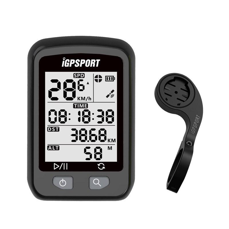 Я gps порт велокомпьютер секундомер велосипедов компьютер IPX6 Водонепроницаемый IGS20E gps