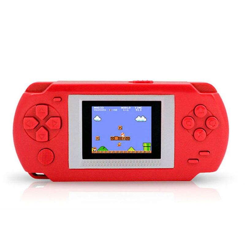 2018 nueva llegada calidad Ultra-delgado portátil 2,0 ''pantalla del Color consolas de videojuegos 268-en-1 juegos clásicos jugador Handheld del juego