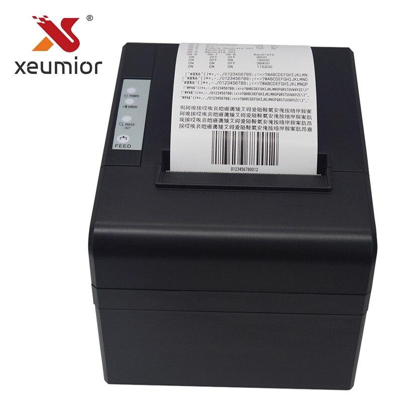 Xeumior SM-8330 coupeur automatique USB série Ethernet Port code-barres imprimante en gros POS imprimante thermique imprimante 80mm