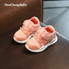 Bernapas Sepatu Anak-anak 2018 Baru Musim Semi Musim Gugur Berjalan Sepatu Hiking Anak-anak Laki-laki Perempuan Sneakers Bayi Bayi Sepatu Kasual 21-30