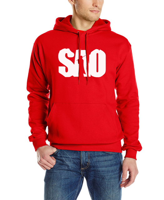 Anime Sword Art Online Cotton Long Sleeve Sweatshirt