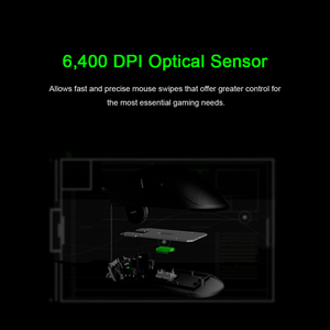 Image 4 - Original Razer DeathAdder Essential Ergonomic Professional Grade Gaming Mouse 6400 DPI Optical Sensor Gamer For Computer Laptop