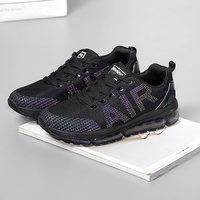 New Run Running Shoes Women Air Cushion Breathable Sneakers Women Black Sport Shoes Reflective Professional Athletic Chaussure