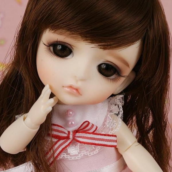 1/8 scale BJD about 15cm pop BJD/SD cute kid lati coco Lea Resin figure doll DIY Model Toy gift.Not included Clothes,shoes,wig
