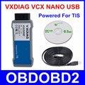 Новейшие VXDIAG VCX NANO Для TOYOTA TIS Techstream V10.30.029 Питание Для TIS, Совместимый с SAE J2534 Fireware Может Быть Обновлена