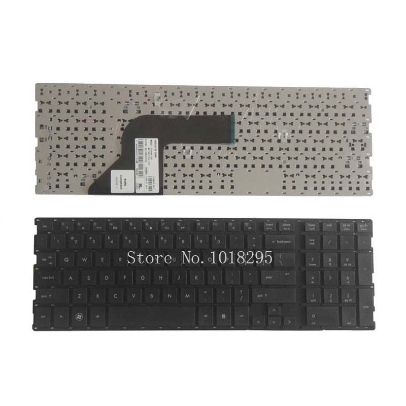 NEW English keyboard For HP Probook 4510 4710 4510S 4515S 4710S 4750S US laptop keyboard WITHOUT frame laptop keyboard without frame for hp zbook 14 us series black win8 sg 61100 xua 6037b0085301 sn9121