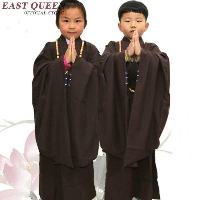 reputable site f93e3 b13c3 US $28.05 45% di SCONTO|Vesti monaco buddista per i bambini monaco shaolin  abbigliamento per i bambini monaco shaolin abiti bambino monaco buddista ...
