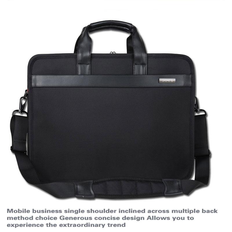 SHENETS Brand Laptop Bag 14 15.6 17 Inch Impermeabil de afaceri - Genți
