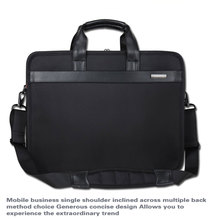 SHENETS Brand Laptop Bag 14  15.6  17 Inch Waterproof Business Computer Bag Travel Casual Bag Shoulder Strap Portable Bag