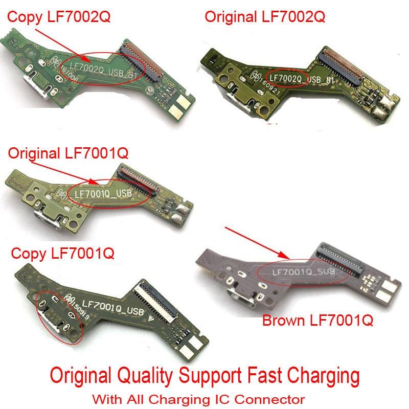 New Charger Port USB Port Dock Plug Connector Complete Flex Cable For Lenovo Tab 3 7 Plus PHAB PB1-750N PB1-750