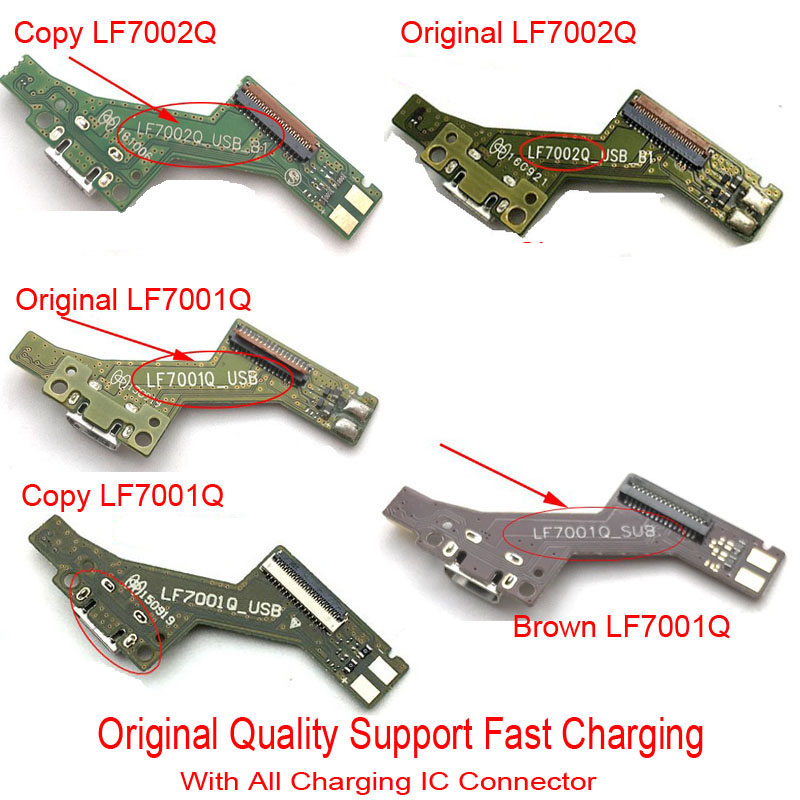 New Charger Port USB Port Dock Plug Connector Complete Flex cable For Lenovo Tab <font><b>3</b></font> <font><b>7</b></font> Plus PHAB PB1-750N PB1-<font><b>750</b></font> image
