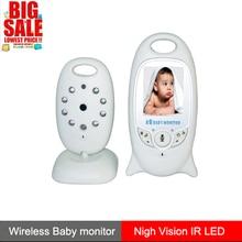 Mejor cámara de seguridad de Monitor de bebé Digital inalámbrico de vídeo de Color para niños de 2 vías para monitoreo de temperatura de visión LED IR