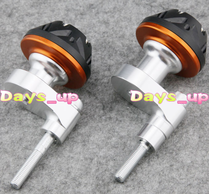 Motorcycle Accessories Parts for yamaha YZF R6 2008-2012 Motorcycle Frame Sliders Protector Crash 08-12, free shipping!Orange aftermarket free shipping motorcycle parts eliminator tidy tail fit for 2006 2012 yzf r6 yzf r6 yzfr6