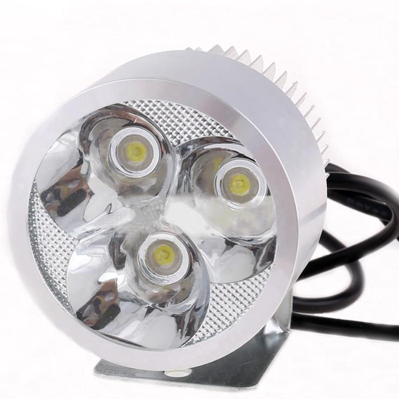 12-80В Универсальный 12w фара водить автомобиля, Светильник мотоцикла Сид управляя пятна тумана головной свет DRL светодиодные фары дневного света лампы