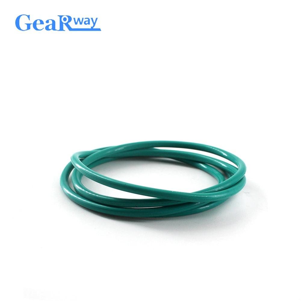 Gearway Green FKM O Ring Seal Gasket 2.5mm CS Oring Seal