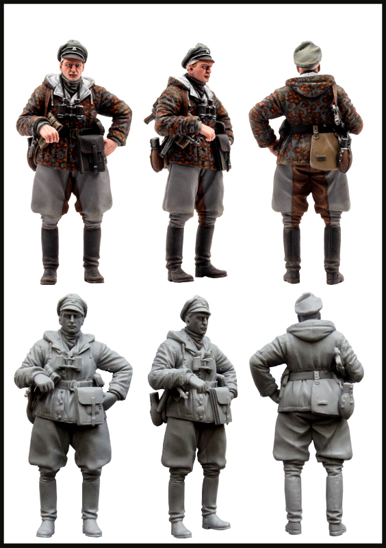 pre order-Resin toys SS officer  Free shipping resin assembly kits 1 9 200mm police girl 200mm unpainted kit resin model free shipping