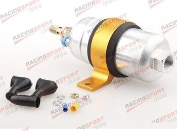 External Fuel Pump 044 for Bosch With Billet Aluminium Bracket/Clamp/Cradle