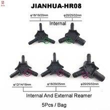 Plumber Tools Black Hand Reamer For Pex-Al-Pex PPR Calibrator Internal And External Pipe Reamers