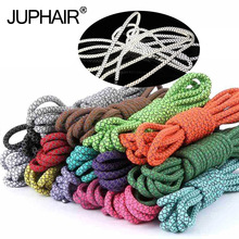 1 Pair Highlight Reflective Fashion Laces Polyester Paisley Shoelace Round Visible Baby Safety Cordon Shoes Shoelaces