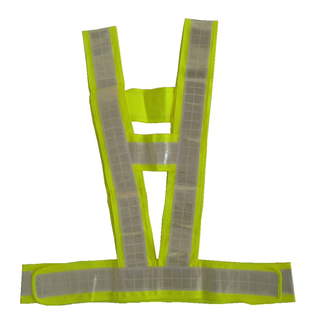 360 Degrees High Visibility Safety Vest Reflective Belt For Running Cycling Sports Outdoor Clothes safety clothing chaleco reflectante 360 degrees high visibility neon belt running cycling sports outdoor clothes reflective vest
