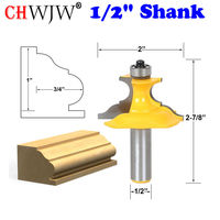 1PC Pedestal Base Small Furniture Molding Router Bit 1 2 Shank Woodworking Cutter Chwjw 16157