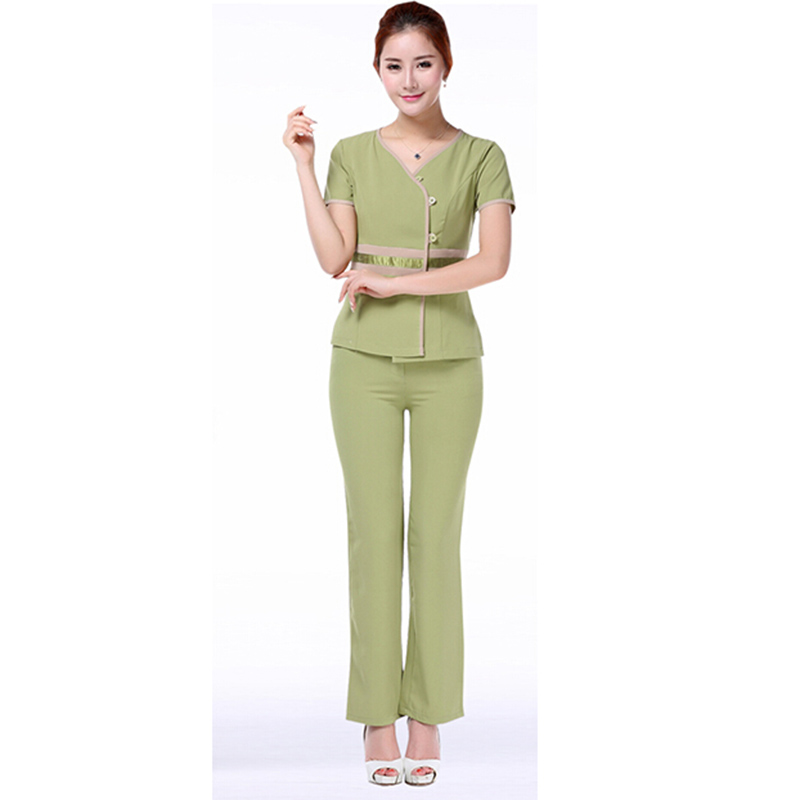 Free shipping plastic surgery hospital women medical for Spa uniform colors