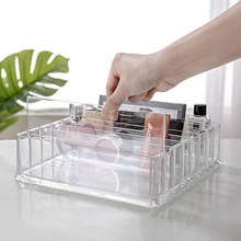 PS Makeup Cosmetic Storage Box CC Cream Acrylic Vanity Cabinet Powder Display Shelf Organizer Holder