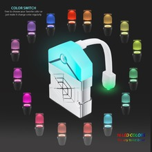 2PCS Led Toilet Light 16 Colors Smart Motion Sensor Seat Night Lamp WC Waterproof Backlight For Bowl