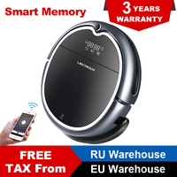 LIECTROUX Robot Vacuum Cleaner Q8000, WiFi App Control Map Navigation Smart Memory UV Sterilization Strong Suction Power