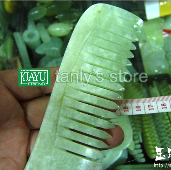 ФОТО wholesale guasha comb original beauty JADE comb  randomly color traditional health care big size