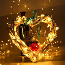 1M 3M 5M Led String Light Waterproof Copper Wire LED Outdoor Fairy Lights Garland For Christmas Tree Wedding Party Decoration string lights new 1 5m 3m 6m fairy garland led ball waterproof for christmas tree wedding home indoor decoration battery powered